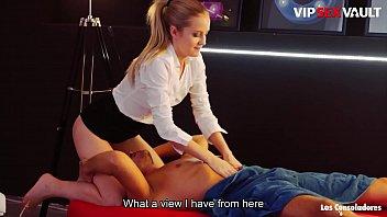 Качественно трахнул молодую массажистку